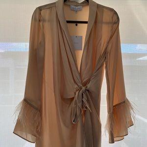 Feather/Silk Robe